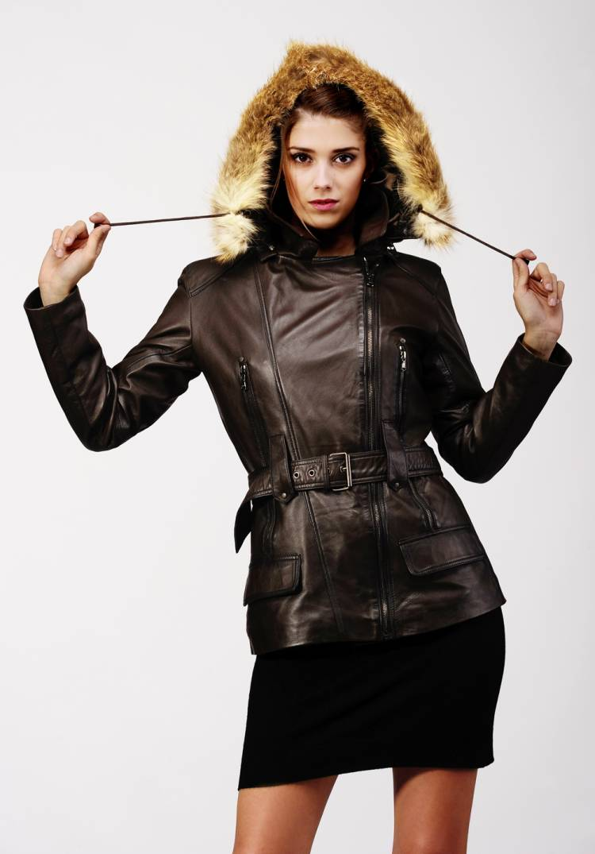 veste cuir femme la richarde vente blousons cuir et. Black Bedroom Furniture Sets. Home Design Ideas